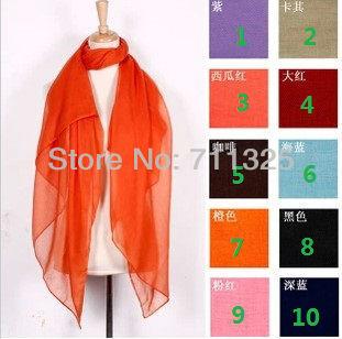 new solid color viscose viskose scarf pashmina plain color wrap plus size 180*100cm(China (Mainland))