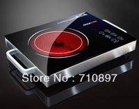 NEW ARRIVAL ACCK 220V German design terrible hot surface electric ceramic induction cooker 100w to 2200w no radiation