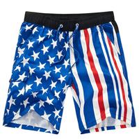 Ameraican Flag shorts for Mens Plus Size Hight Waisted Shorts Beach Capris Camo Sports Loose Fashion Basketball