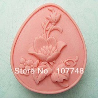 Flower soap mold handmade soap mould chocolate mould soap soap 50321