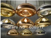 Tom Dixon void light copper brass bowl pendant light aslo for wholesale ,dia 30cm
