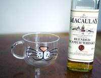 Retail & wholesale Cute Gift Yizi circle glass rarr . cat  Free shipping