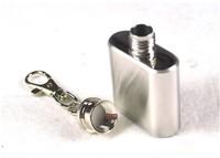 Wholesale 10PCS/lots Whiskey Pocket 1oz mini Hip Flask Liquor Alcohol Wedding Party Drink Stainless steel hip flask Cap-1303232q