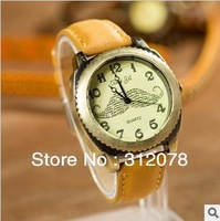 Free Shipping! Promotion Gifts Classic Fashion Mustache PU Women Men Wrist Watches