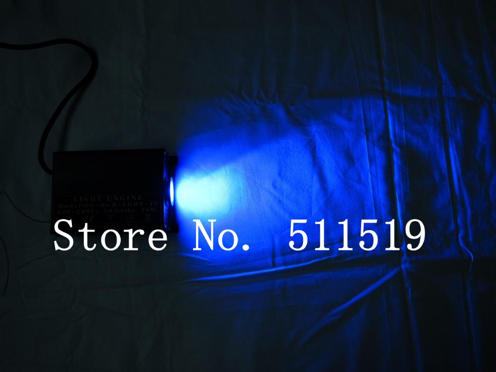 led fiber optic star ceiling kit,300pcs 1.0mm PMMA fiber 3m+16W RGB LED light source(China (Mainland))