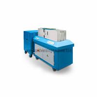 Hydraulic pressure welding machine for aluminum rod