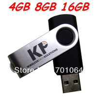 Full Color Logo printing Free High quality USB flash driver 2GB 4GB 8GB 16GB Geniu Really capacity Free shipping cost