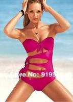 biquini swimwear 2014 Hollow sexy swimsuit Bikini chest chest gather swimwear usa bikini for sale