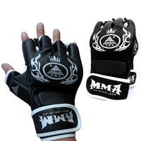 Area boxing gloves sanda glove shriveled semi-finger armfuls mma