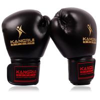 Kangrui sandbag gloves professional boxing sandbagged gloves adult sanda glove breathable type
