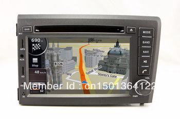 "7"" 2-Din InDash DVD Player GPS Navigation for Volvo S60 V70 2001-2004 with TV RDS Audio Bluetooth Nav Radio Stereo USB"