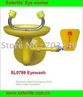 Stainless Steel Emergency Eye Shower  Eye Wash safety shower Face shower