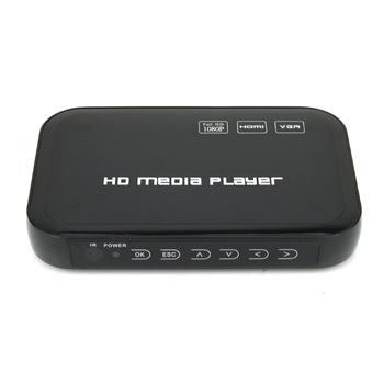 Full HD 1080P USB HDD Media Player HDMI VGA MKV H.264