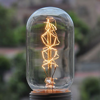 Free shipping Free shipping Incandescent lamp antique light bulbs vintage light bulb silk light bulb Edison light bulb