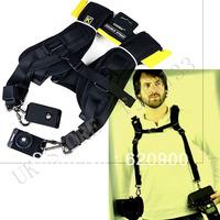 100% GUARANTEE 10 pcs Double Shoulder Strap Camera Neck Quick Sling Belt For Leica Nikon Canon DSLR