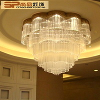Led crystal lamp lighting living room lights ceiling light modern xidingdeng brief living room lamps crystal lamp s607