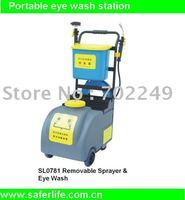 Portable eye shower Emergency Eye washer Removable sprayer mobile safety equipment