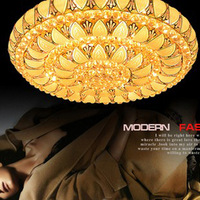 Luxury crystal glass ceiling light luxury living room lights quality fashion ceiling light ceiling light
