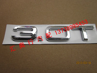 a6l rear back 3.0t letter sticker emblem for audi