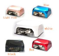Free Shipping 1pcs Diamond 36W CCFL LED Nail UV Lamp Both for All LED and UV Gel