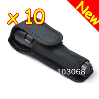 New Nylon LED Flashlight Holster Torch Case Pouch Cover For UltraFire Torch
