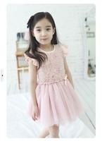 2013 new children's clothing princess rose dress