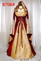 2013 New Arrival Sexy Renaissance Victorian Queen Or Princess Dress For Noble Women Fancy Adult Cosplay Costumes For Halloween