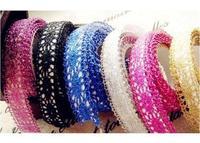 Wholesale DIY lace edges cotton lace tape fabric tape decoration each piece in a pet box colors for choose