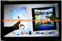 "ON SALE!! Good price, 52"" infrared Multi Touch screen frame / panel, Real dual-touch for Interactive advertising"