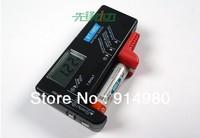 Digital display battery voltage meter tester for 1.5V AA, AAA, 9V battery