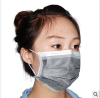 Disposable activated carbon mask ride pm2.5 formaldehyde medical masks 50ps