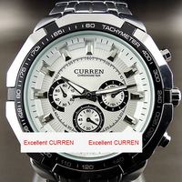 2013 New Brand Curren Watch Fashion Quartz Wristwatch Luxury Clock Hot Selling Hours Stainless Steel Watch CW010 Free Shipping