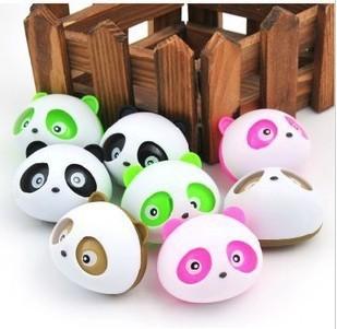 Cute panda Air Freshener Perfume Diffuser for Auto Car perfume holder free shipping #SSS(China (Mainland))