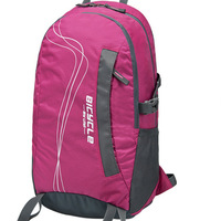 New arrival backpack female light sports backpack travel bag waterproof nylon cloth school bag travel bag red and blue
