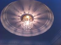20cm Crystal lamp aisle lights corridor lights balcony ming mounted led entrance lights 520022