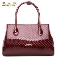 Laorentou brand Crocodile 2013 summer new arrival fashion luxury fashion female quality genuine leather handbag shoulder bag