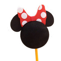 MINNIE Antenna Ball Toppers exterior aerial ball car aerial accessories decoration doll micky mouse ball