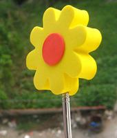 EVA FOAM SUN FLOWER Antenna Ball Topper CAR DECORATION  Antenna Ball Toppers  free shipping