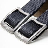 Tactical bird titanium black canvas belt male casual canvas strap male casual belt lengthen