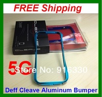 3pieces/lot DRACO V Aluminum Case / Bumper Deff Cleave Aluminum Bumper Case for iPhone 5 5G With Retail Packaging Box