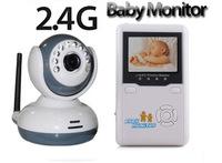 "Free shipping!!2.4""TFT Wireless Digital Baby Monitor IR Video Talk one Camera Night Vision video/Baby Monitor"