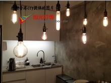 vintage style light bulbs promotion