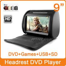 dvd player headrest promotion