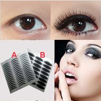 Free shipping- Black Stripe Make Up Eyeliner Sticker Double Eyelid Transfer Tape Eye Liner Shadow Smoky Tattoo 240paris/lot