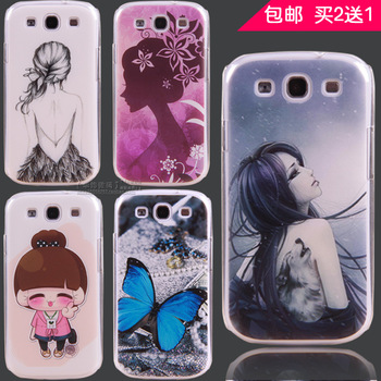 gifts For samsung   i9300 mobile phone case phone case i9308 i9305 protective case cell phone case colored drawing everta s3