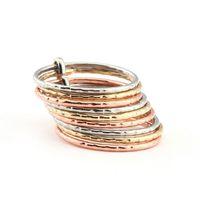 Stunning New Design Creative Nine laps Multi-layer Iron Circle exquisite Rings 261698-161702