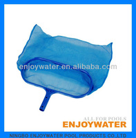 Swimming pool economy deep bag rake with plastic handle LS02