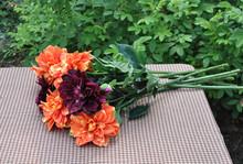 dahlia silk flowers price