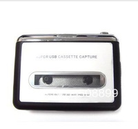USB Cassette Capture Recorder Radio Player. Tape to PC Super Portable USB Cassette to MP3 Converter +Retail Box Free Shipping