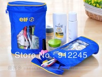 wash bag,Multifunctional traveling waterproof wash bag,Women Cosmetic,Oxford cloth,Fastening + zipper,10 PCS/LOT,FREE SHIPPING
